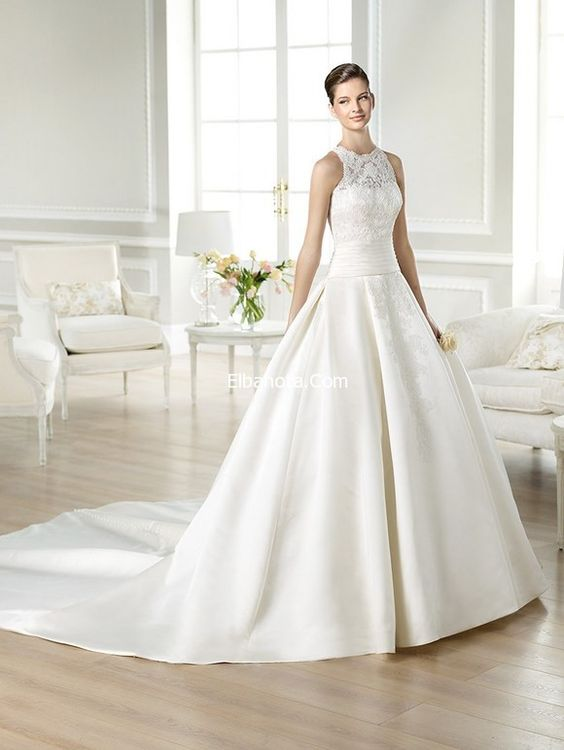 فساتين زفاف دانتيل موضة فساتين زواج دانتيل صور فساتين دانتيل للاعراس فساتين زفاف أزياء بنوته Wedding Dresses Wedding Dresses Lace Pretty Wedding Dresses