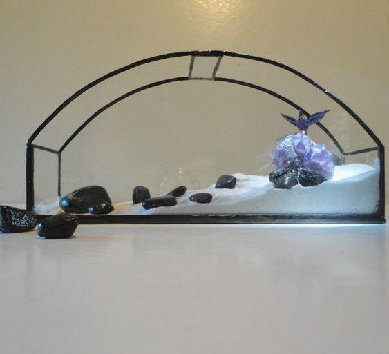Glas Terrarium, Pflanzer, Dekoration, Garten Kunst, Recycling-Glas, Display, Container für Diorama, Atrium, Wintergarten, Gewächshaus