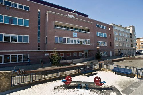 De Catharinaschool (Vechtstraat 88) in Amsterdam.