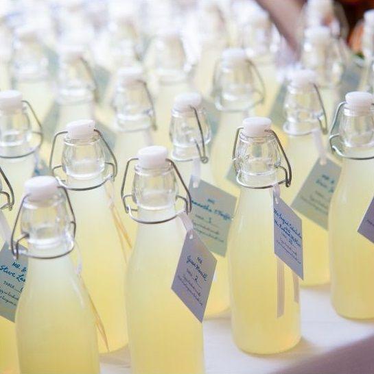 Bouteille De Limonade En Verre 19 Cm Cadeau Invite Mariage Bouteille Bouteille Limonade