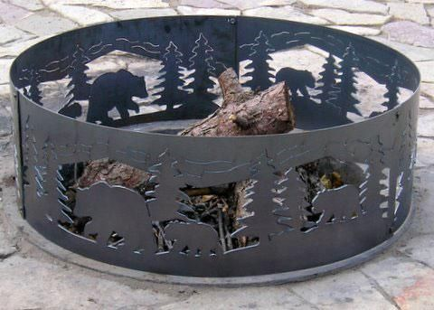 48 inch ring n cubs steel pit
