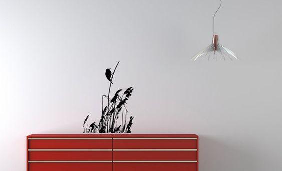 Wall Vinyl Decal Sticker Art Design a bird by VinylDecals2U, $24.65