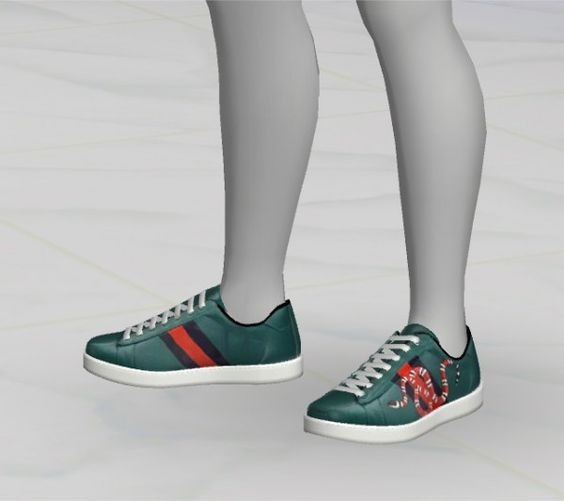 Greenapple18r: Gcci Sneakers • Sims 4 Downloads