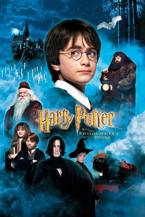 Harry Potter And The Philosopher S Stone Harry Potter Movie Posters Harry Potter Movies Philosopher S Stone Harry Potter