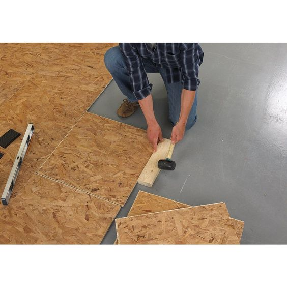 1000 ideas about basement subfloor on pinterest