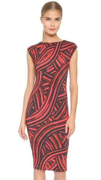 Fuzzi Printed Dress