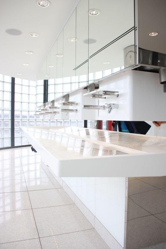 Plan vasque - Sanitaires Aéroport ORLY - Paris