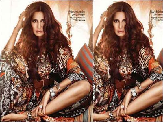 Katrina Kaif Vogue Magazine Photoshoot Pics