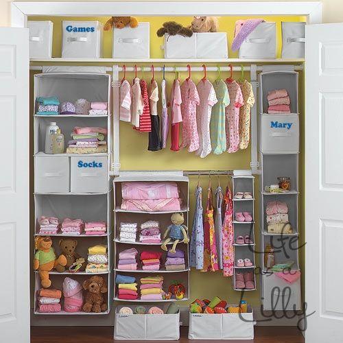 Ideas for the babies room baby pinterest organizaci n del armario armarios de beb y - Armarios de bebe ...