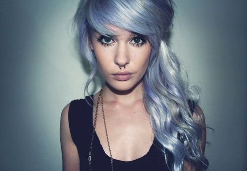 Hair and Septum Piercing