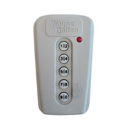 Wayne Dalton 5 Button Keypad 372 Mhz Wayne Dalton Wayne Dalton Garage Doors Garage Door Opener Remote