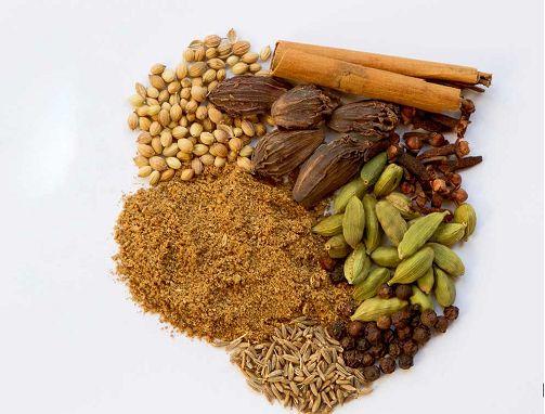 مكونات بهارات جرام ماسالا الهندية طريقة Garam Masala Masala Spice Masala