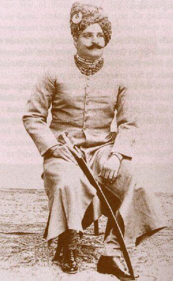 Thakur Bhojraj Singh of Gondher (1873-1928).