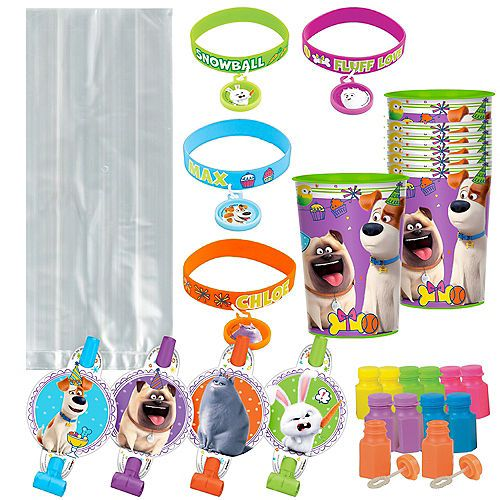The Secret Life Of Pets Party Supplies Birthday Decorations Party City In 2020 Animal Party Animal Birthday Birthday Party Supplies