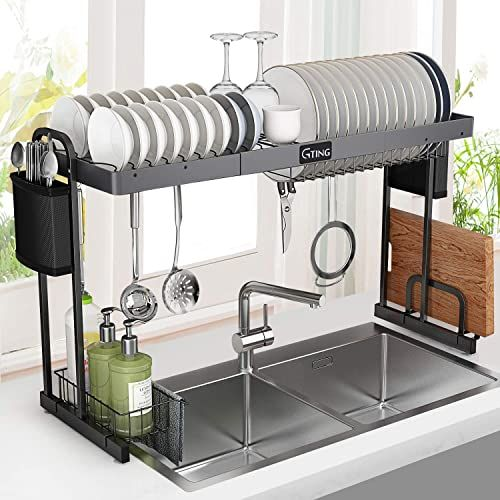 New Over Sink Dish Rack G Ting Expandable Dish Drying Rack 27 5