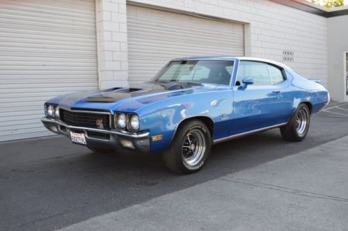 1972 Buick Skylark Gs Stage 1 Tribute Gorgeous 455 Fake News But Nice Buick Cars Classic Cars Buick Gs