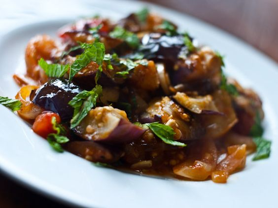 ... Tomatoes with Harissa and Mint | Recipe | Eggplants, Tomatoes and Mint