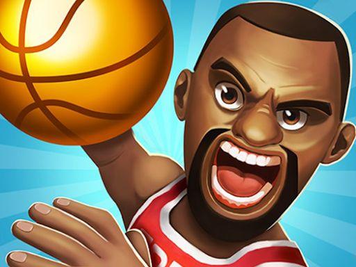 لعبة ضربة كرة السلة Basketball Strike Basketball Choose Your Path Online Games