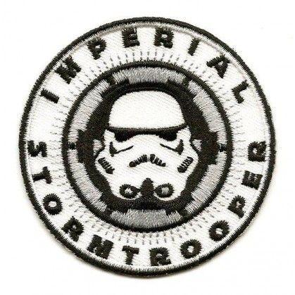 ecusson star wars stormtrooper imperial thermocollant de taille 64 cm rparez ou cachez les accrocs faits vos vtements ou rajoutez y une petite