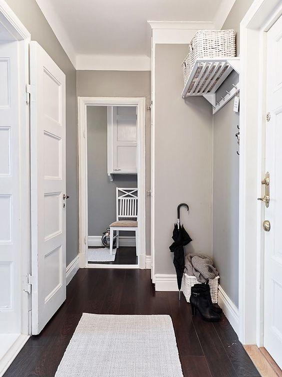 Charming Nordic White Apartment Interior Design