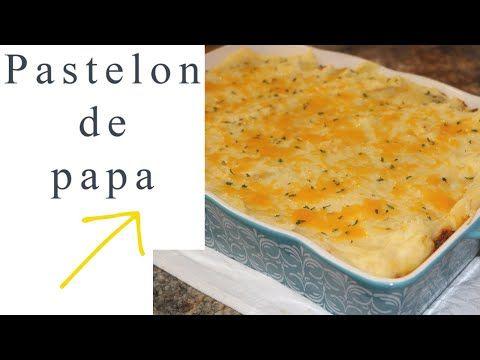 Pastelon De Papa Dominicano Con Carne Molida Ros Emely Youtube Carne Molida Comida Etnica Recetas De Comida
