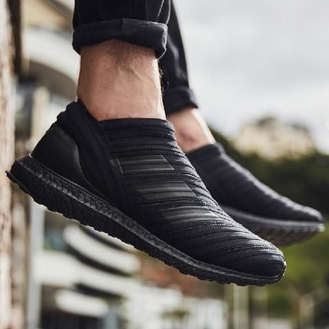 doble Silenciosamente músico  Cheap Adidas Ultra Boost X Nemeziz Tango 17 Triple Black Shoes Sale |  รองเท้า