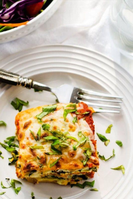 Easy Vegetable Lasagna Recipe In 2020 Pork Recipes Easy Easy Pasta Recipes Easy Soup Recipes Healthy