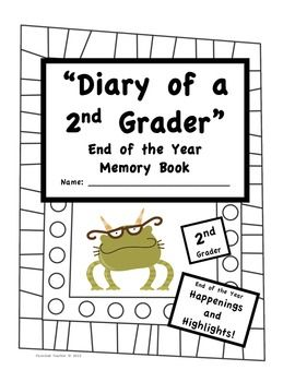 End of the year memory book- neat idea!!