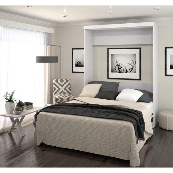 Best Bestar Queen Murphy Bed Reviews Wayfair Office 400 x 300