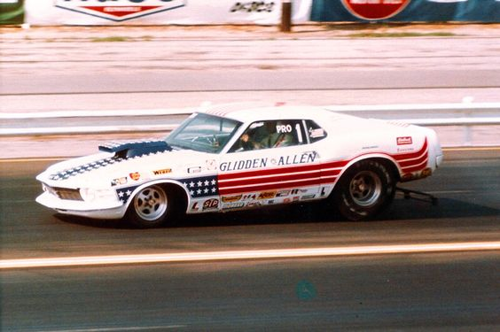 Drag Racing Pro Stock Cars : Vintage drag racing pro stock glidden allen cars
