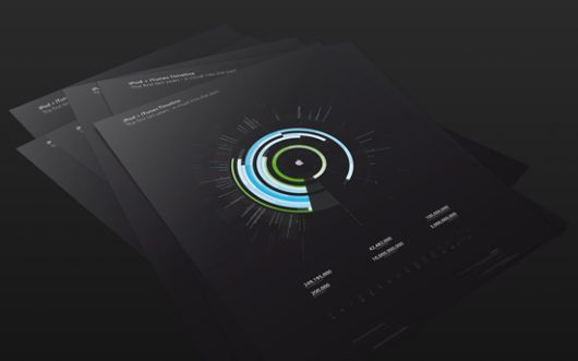 Designspiration — iPod plus iTunes Timeline on the Behance Network