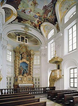 Nymphenburg Palace Interiors - Palace Chapel