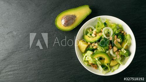 28+ Gruener salat mit avocado Trends
