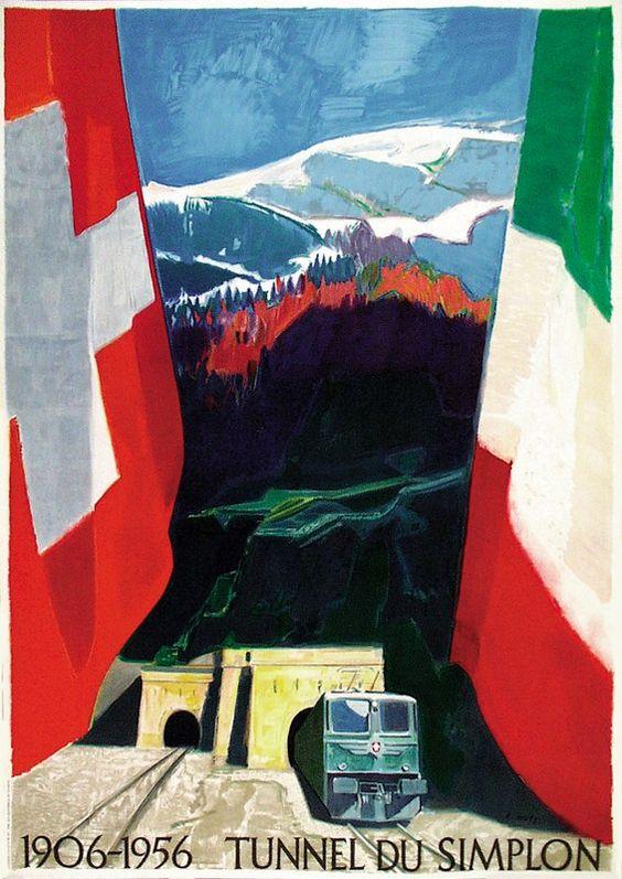 Tunnel du Simplon - 1956 - (Holy Adrian) -