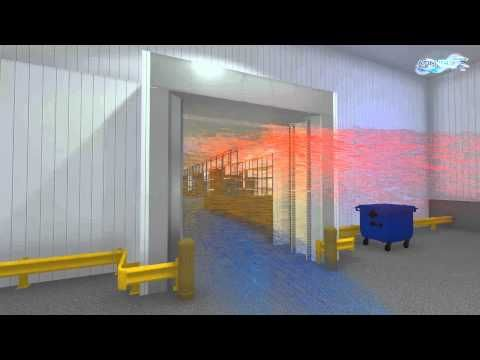 Cold Storage Air Curtain Patented Afim Iglo 2 Air Door Freezer