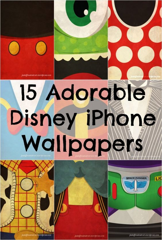 15 Iconic Disney Characters as iPhone Wallpapers | Babble