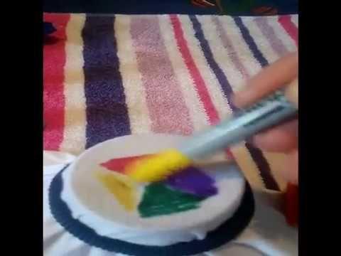 pintar tu ropa vieja con plumones sharpie y alcohol¡¡ dale