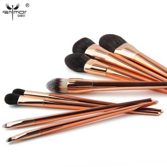 Anmor Extremely Soft Makeup Brush Set (8Pcs) //Price: $39.95 & FREE Shipping //   #mua