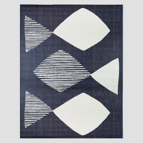 Mod Fish Outdoor Rug Navy Project 62 Target Outdoor Rugs Navy Rug Project 62