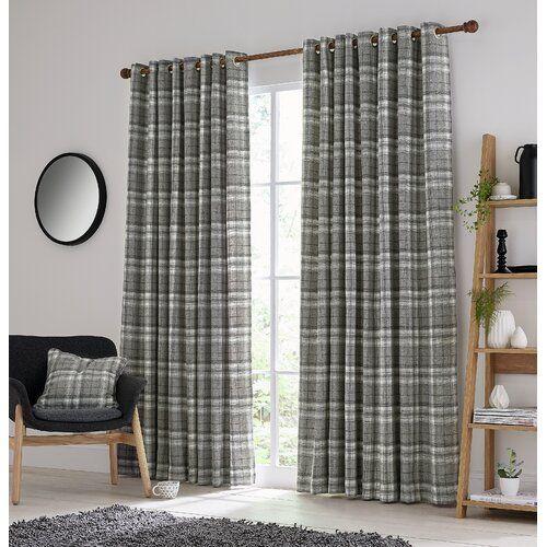 Harriet Lined Eyelet Room Darkening Curtains Helena Springfield