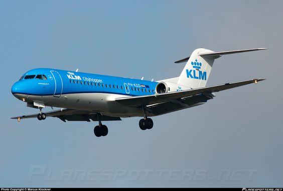 PH-KZD KLM Cityhopper Fokker F70