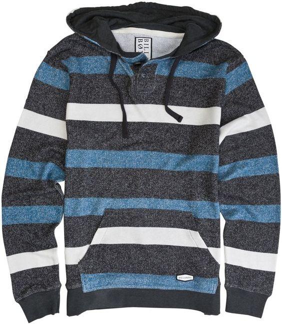 BILLABONG DAILY PULLOVER HENLEY > Mens > Clothing > Sweatshirts & Fleece   Swell.com