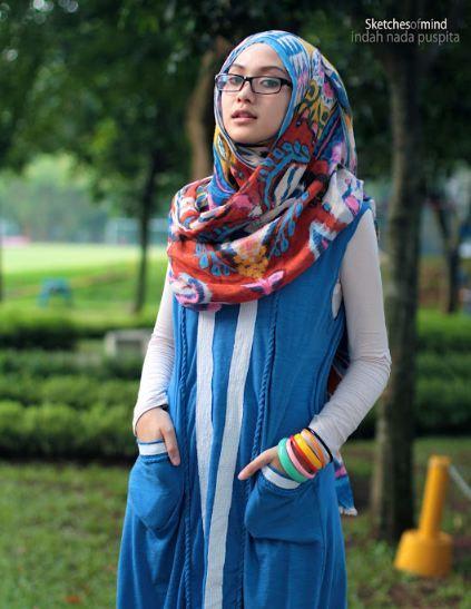 Colorful hijab - Ftw
