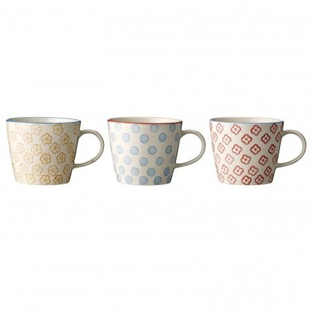 "3 cups ""Emma"",  Bloomingville"