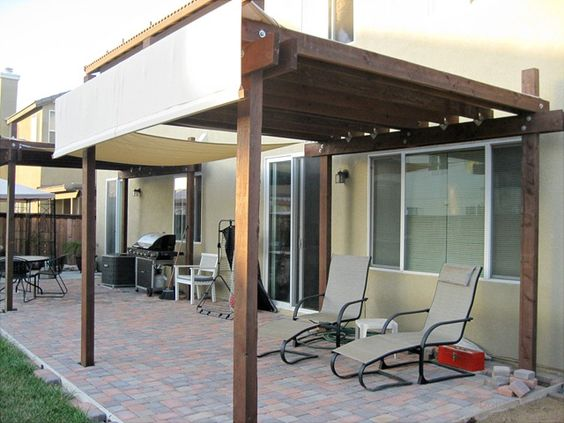 Pergolas Painters Cloth And Pergola Cover On Pinterest