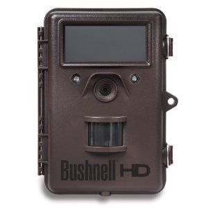Bushnell 8MP Trophy Cam HD Max Black LED Trail Camera with Night Vision
