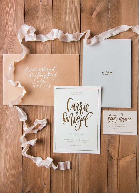 Just a fairly short post today to talk about our wedding stationery. This might not be a particularly exciting topic for everyone, but for me, there is something about a nice bit of card stock that gets me going. I scrolled Pinterest for hours looking at other people's invitation designs and envelopes, collecting inspiration, and then it was time to create our own.