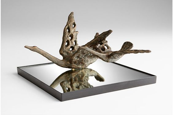 Bronze Phoebe Sculpture   Mitchell Williams