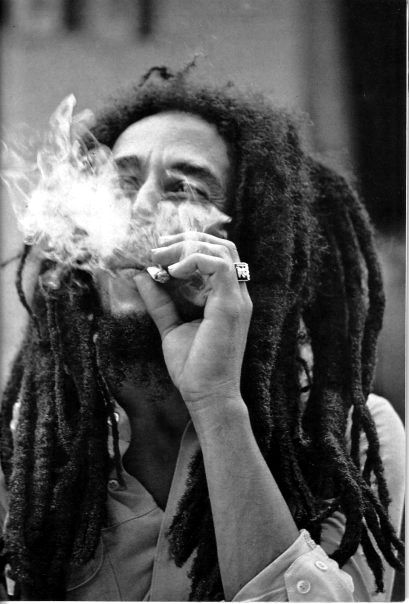 "Bob Marley. ""Don't worry - About a thing - Cos every little thing's gonna be all right..."""