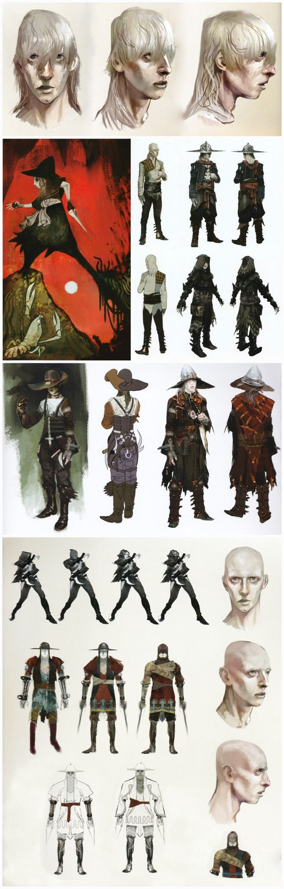 Dragon Age Inquisition Character Design Ideas : Cole concept art in the of dragon age inquisition